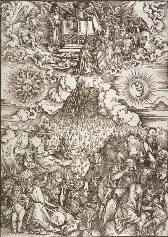 The Opening of the Fifth and Sixth Seal, sixth plate from the series The Apocalypse