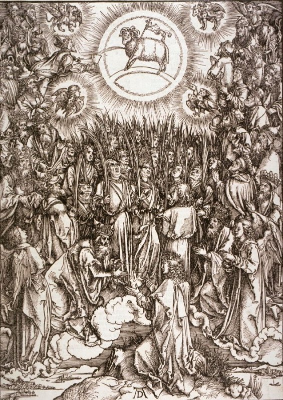 The Adoration of the Lamb, fourteenth plate from the series The Apocalypse