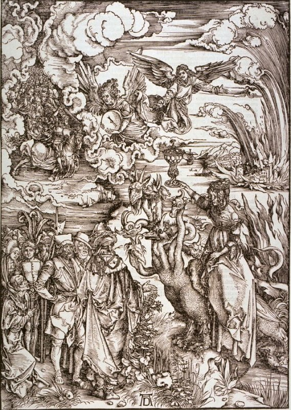 The Whore of Babylon, fifteenth plate from the series The Apocalypse