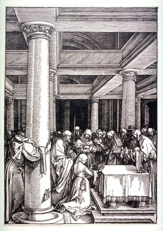 The Presentation in the Temple, thirteenth plate from the series The Life of the Virgin