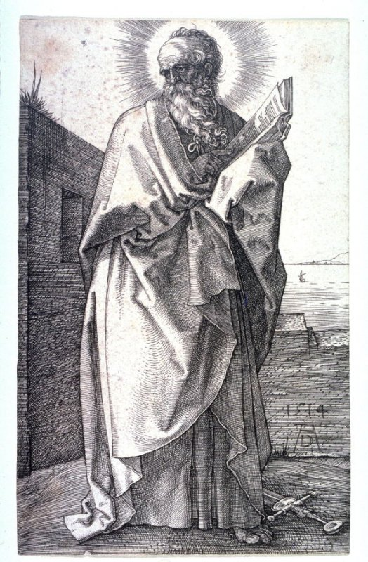 St. Paul from the series, the Five Apostles