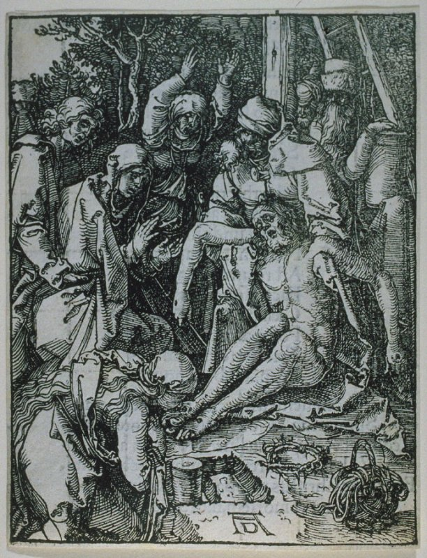 The Lamentation, twenty-eighth plate in the series, The Little Passion