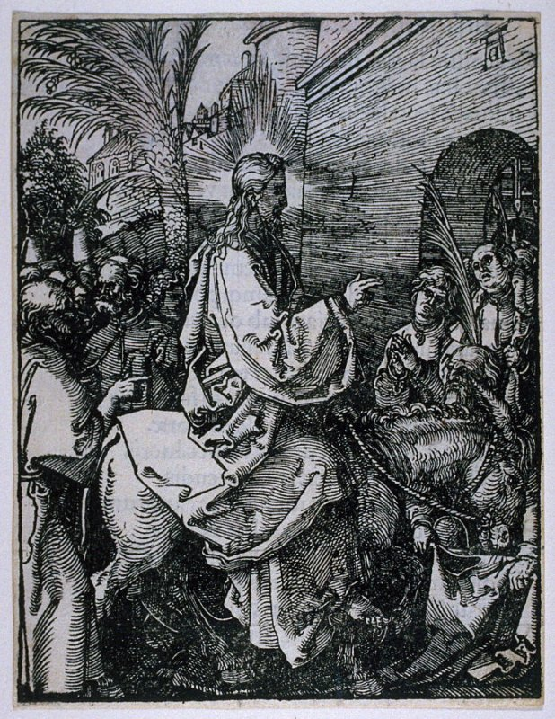 The Entry into Jerusalem, sixth plate in the series, The Little Passion