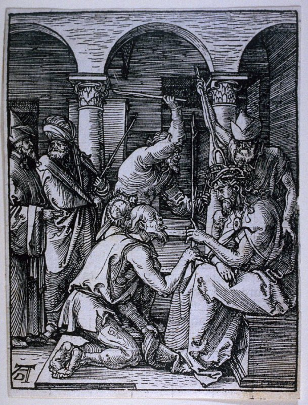 The Crowning with Thorns, nineteenth plate in the series, The Little Passion