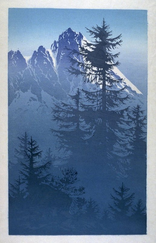 Untitled (Alpine Landscape)