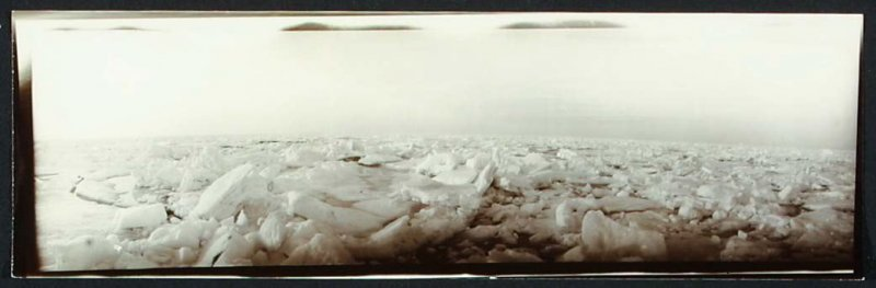 Untitled (View of Polar Ice Flow)