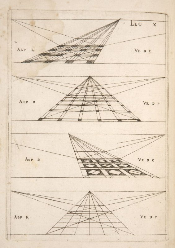 Plate 10 in the book Leçons de perspective positive (Paris: Mamert Patisson, 1576)
