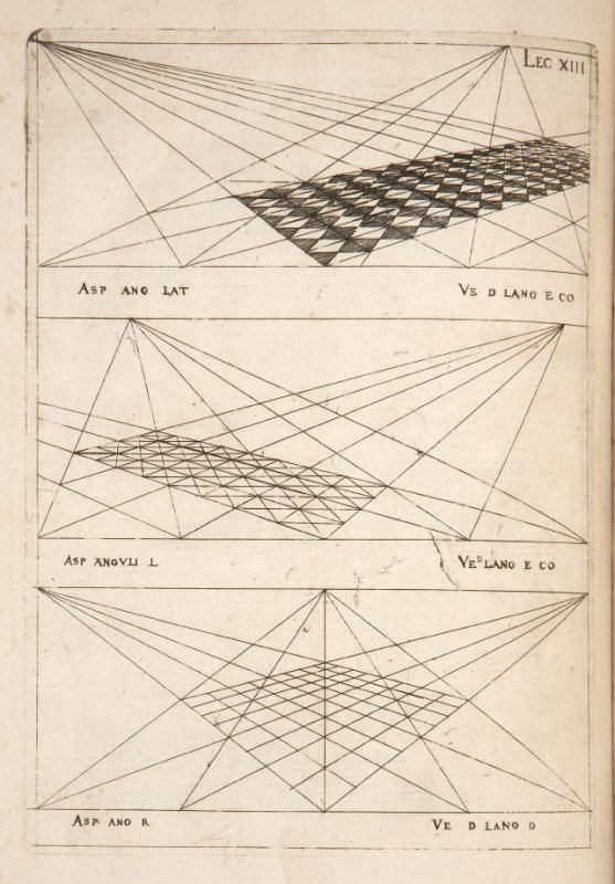 Plate 13 in the book Leçons de perspective positive (Paris: Mamert Patisson, 1576)