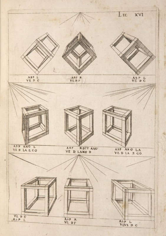 Plate 16 in the book Leçons de perspective positive (Paris: Mamert Patisson, 1576)