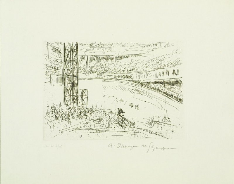 Untitled, illustration 4, in the book Hommage a Roger Lacourière (Paris: Le Degré Quarante et Un, 1968)