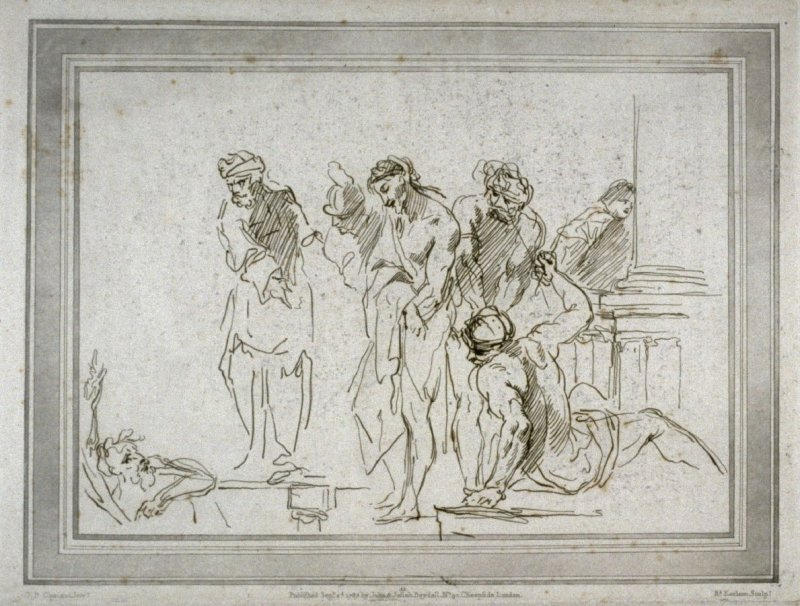 Ecce Homo, illustration to the series 'A collection of prints, after the sketches and drawings of the late celebrated Giovanni Battista Cipriani'