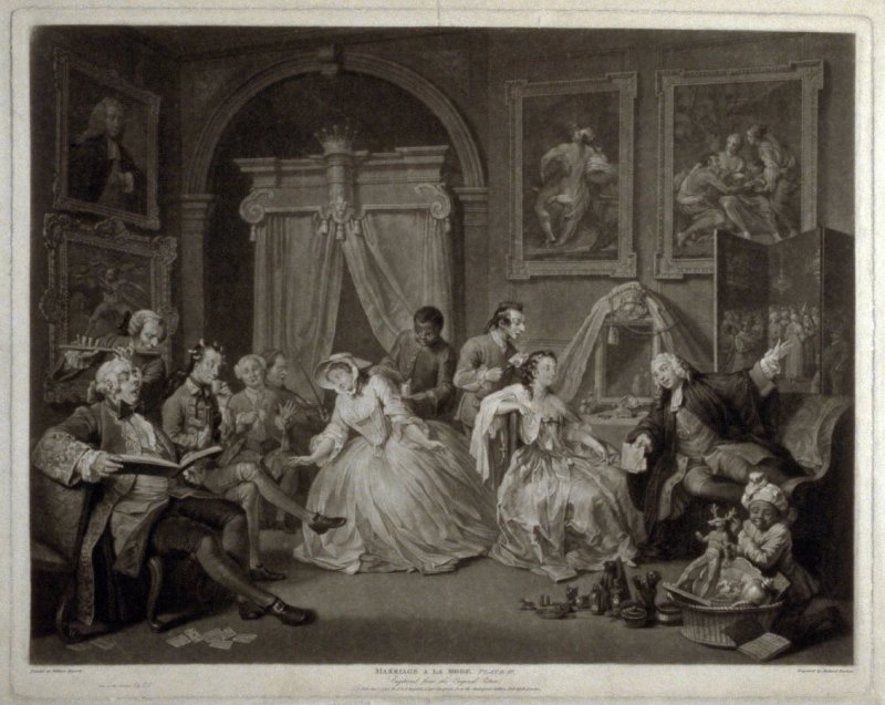 Plate IV from Marriage a la Mode