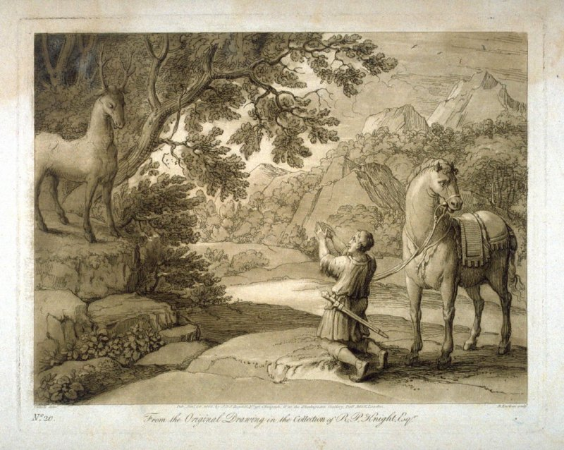 From the Original Drawing in the Collection of R.P.Knight Esq.