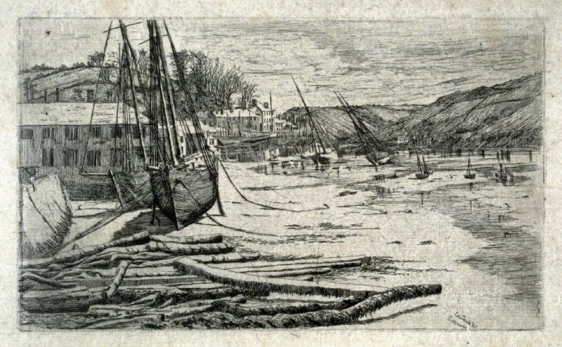 Harbor Scene, Salcombe