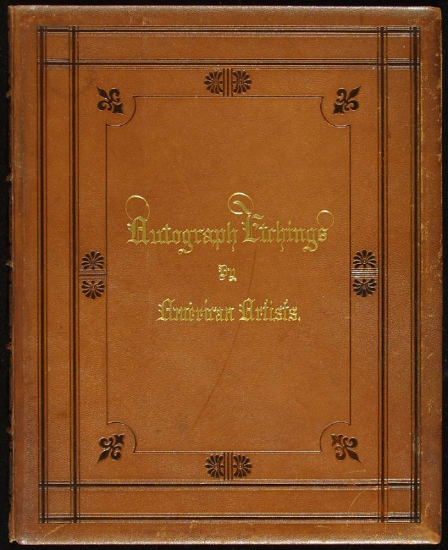 Autograph Etchings by American Artists (New York: W. A. Townsend & Company, 1859)