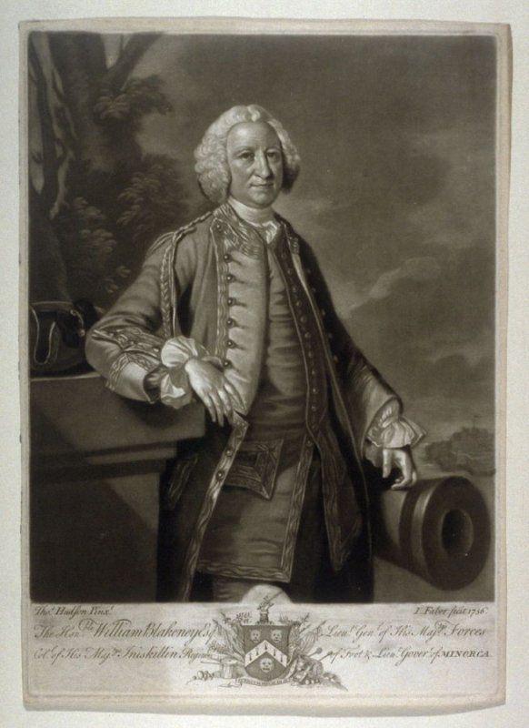 Portrait of William Blakeney Esq.