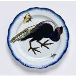 Dinner plate with pheasant from the 'Rousseau' Service