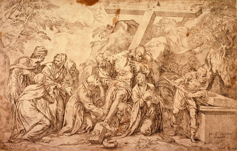 The Descent from the Cross, after Paolo Farinati
