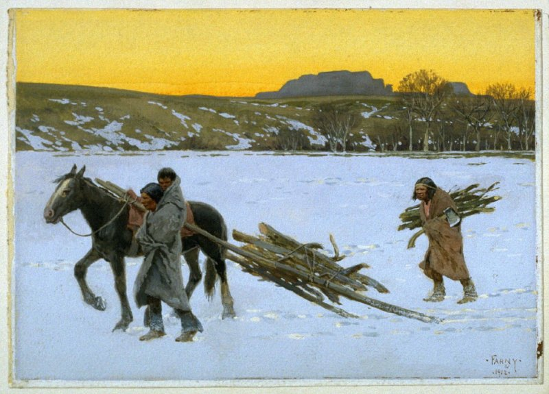 Bringing in the Firewood