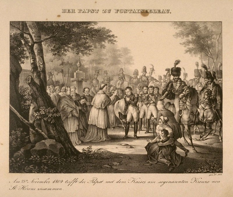 Napoleonic War Series II: The Pope at Fontainbleau