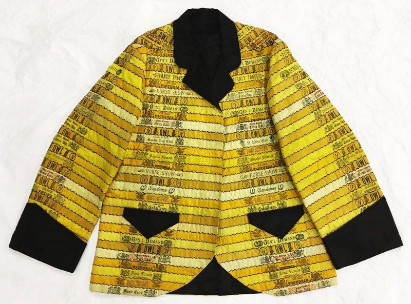Man's smoking jacket