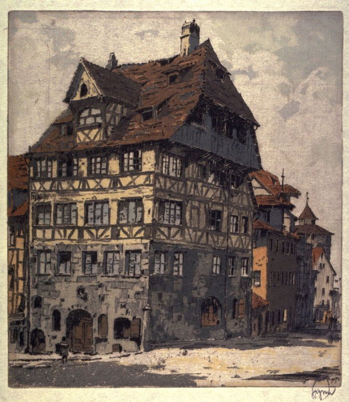 Albrect Durer's House in Nuremberg, Germany
