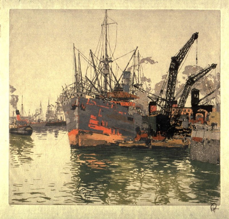 Harbor of Le Havre France, No.2