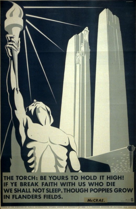 The Torch; Be Yours To Hold It High! - World War II Poster