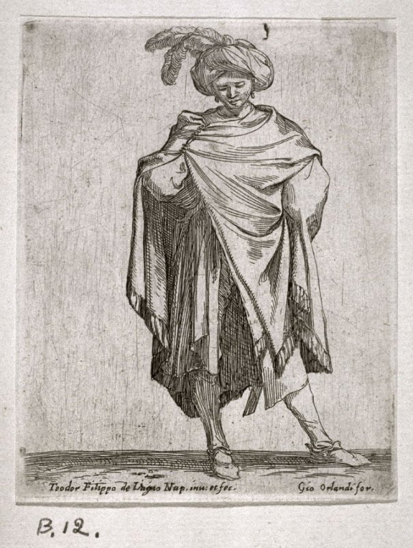 Oriental Soldier, from the series Soldiers