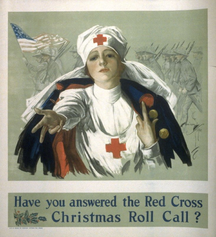 Have You Answered the Red Cross Christmas Roll Call? - World War I Poster