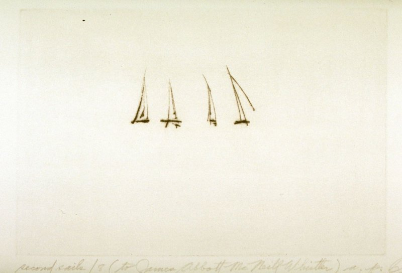 Second Sails 8 (to James Abbott McNeill Whistler)