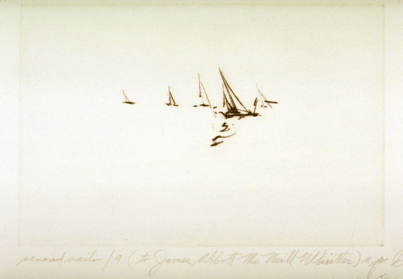 Second Sails 9 (to James Abbott McNeill Whistler)