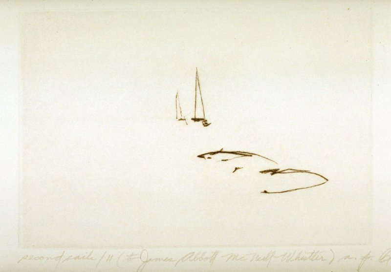 Second Sails 11 (to James Abbott McNeill Whistler)