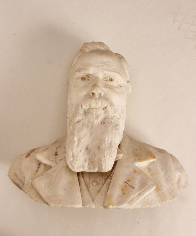 Bust of James Scobie