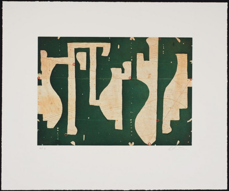 Seven String Etching No.8