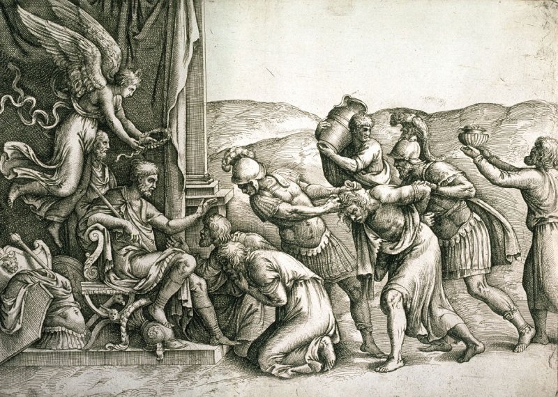 Scipio Granting Clemency to the Prisoners