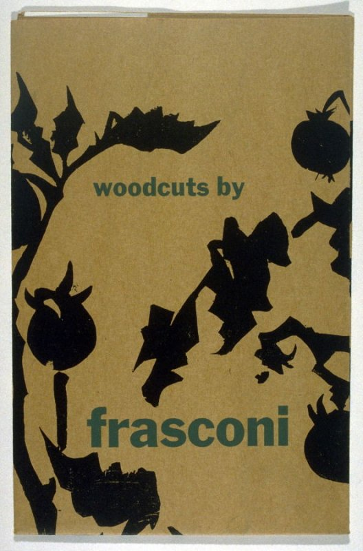 Woodcuts by Antonio Frasconi/Weyhe Gallery March 27 - April 30, 1954