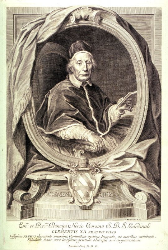 Portrait of Pope Clement, XII