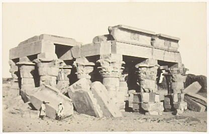 """Temple of Koum Ombo,"" in the book Egypt and Palestine, 2 vols., by Francis Frith (London: James S. Virtue, 1858-1859); volume I of II"