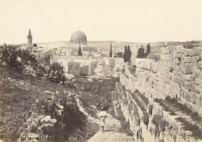 """""""View of Girgeh, Upper Egypt,"""" in the book Egypt and Palestine, 2 vols., by Francis Frith (London: James S. Virtue, 1858-1859); volume I of II"""