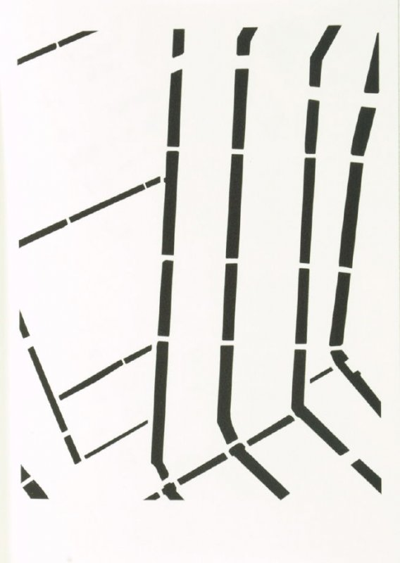 """Illustration 13 in the book """"a thousand feet above sea-level"""" (Amsterdam/ Kassel: 1999/2000)"""
