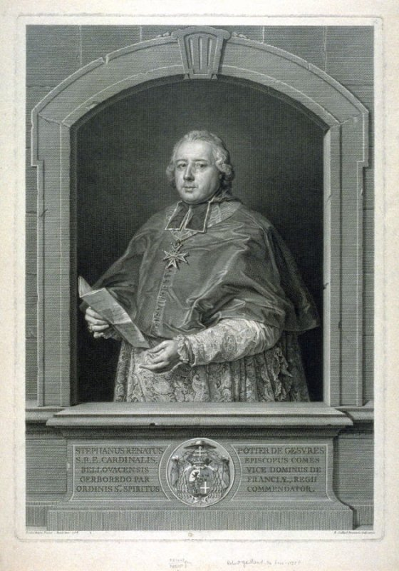 Portrait of Cardinal Stephanus Ronatus Potter de Geavres