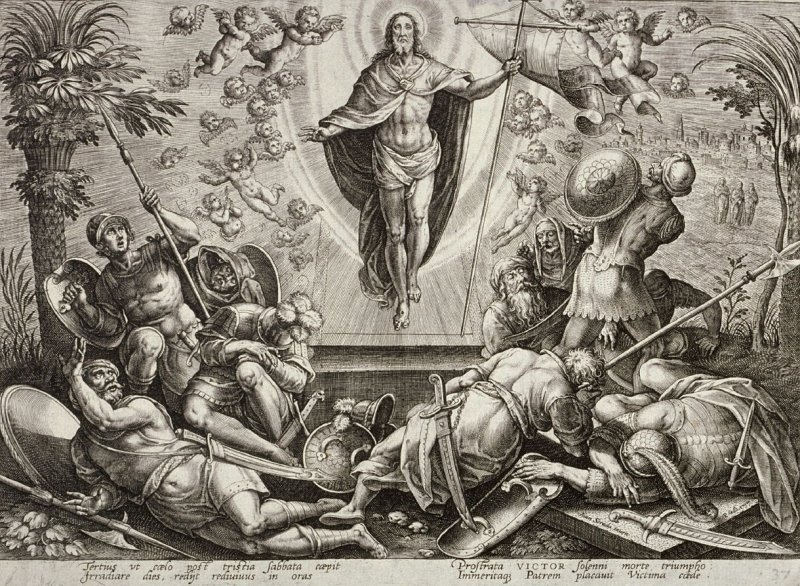 The Resurrection, plate 37 from The Passion of Christ