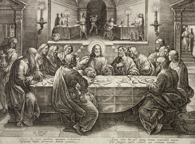 The Last Supper, no. 2 from The Passion of Christ