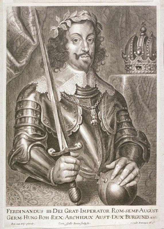 Ferdinand III, Holy Roman Emperor, from The Iconography