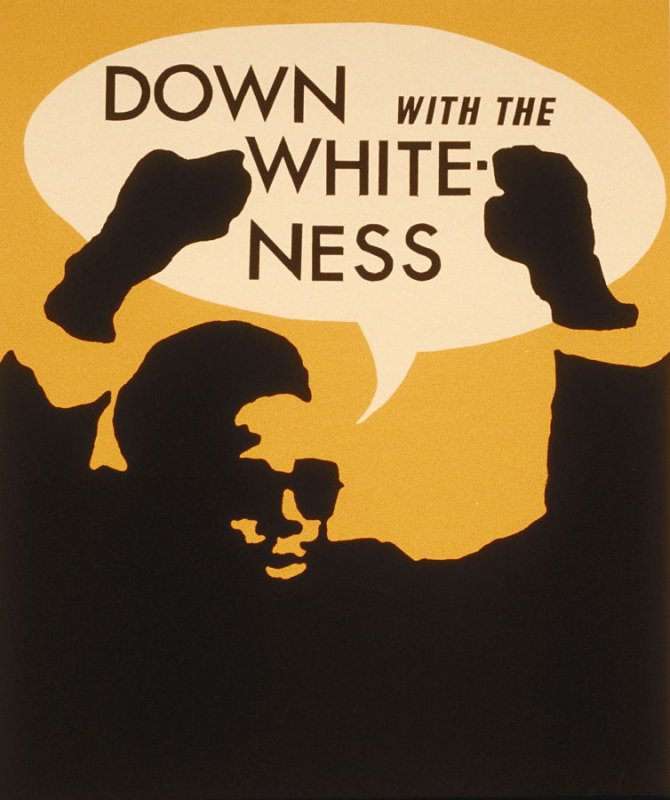 Down with the Whiteness