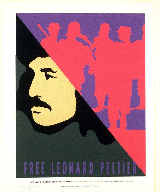 Proof for Free Leonard Peltier