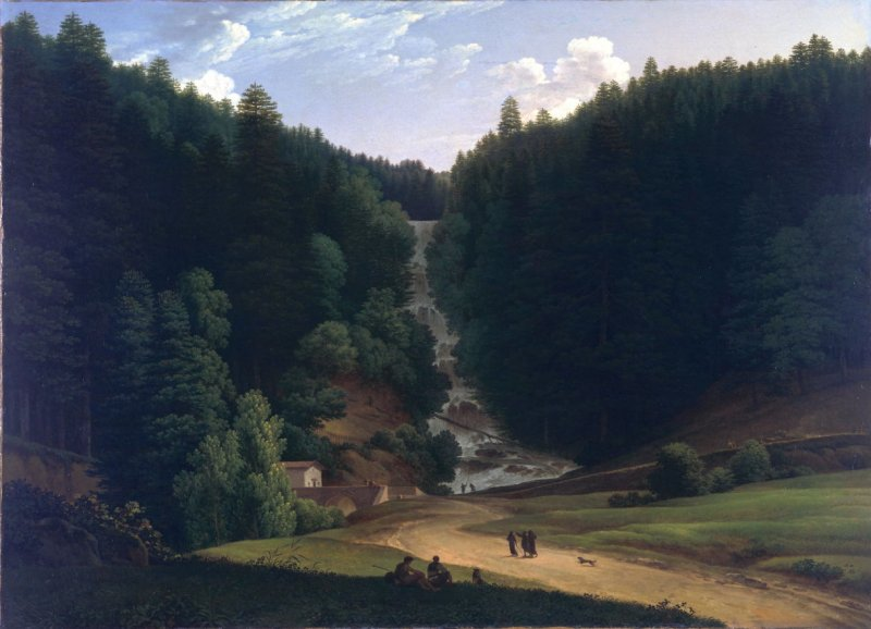 View of Falls at Vallombrosa