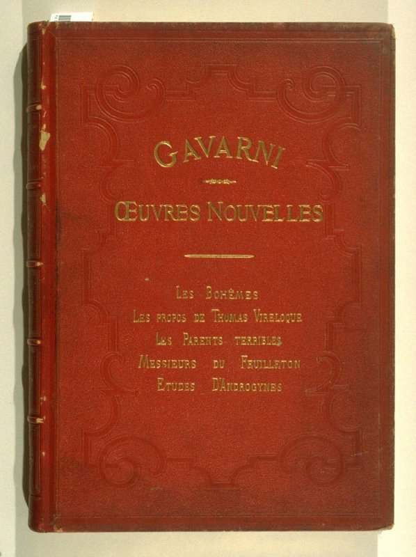 title from front cover: Oeuvres nouvelles ([Paris: Librairie Nouvelle, ca. 1840], [vol. 4 (indicated by **** at foot of spine)]