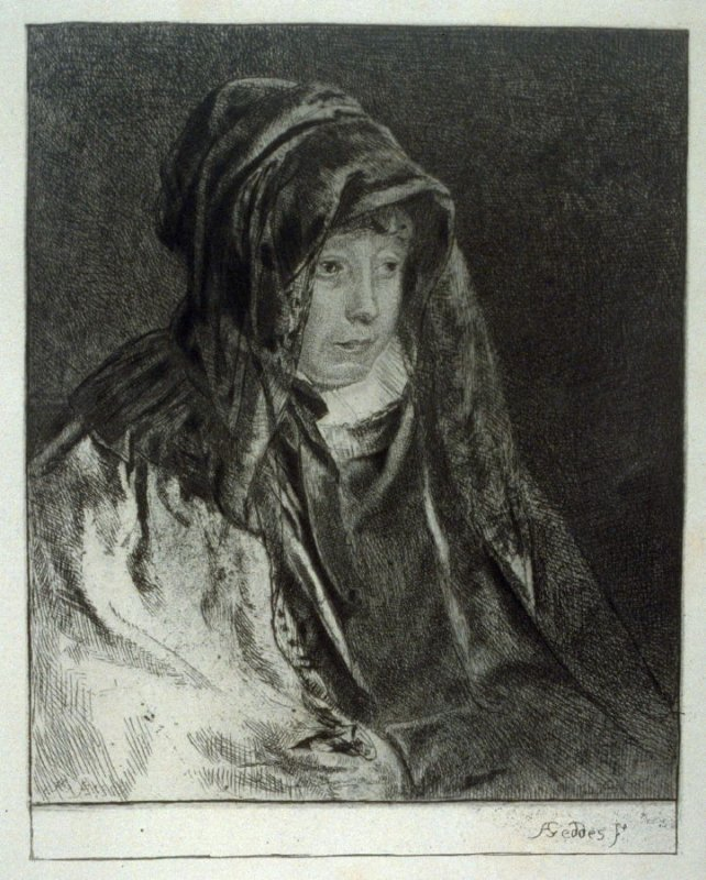 Mrs. Geddes, the Artist's Mother